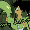 Futurama: Amy/Kif: My hero