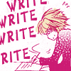 School-DEADLINE, Books-Write or die, Ouran-Tamaki's essay