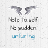 Max quote: No sudden Unfurling