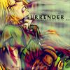 Surrender.