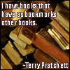 Deborah: books as bookmarks