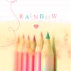 Stock - Rainbow Pencils