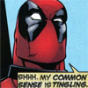 Emily: deadpool common sense