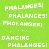 tv // bones // phalanges!