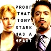 tony stark has a heart