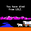oregon trail, ded from lolz