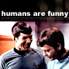 That Which Fights Entropy: spock humans are funny