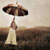 зонт вверх