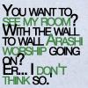 arashi worship room snark