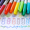 sharpie rainbow