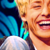 Mitch; laughing