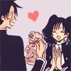 play hearts, kid.: Watanuki & Himawari ● OMGSQUEE.