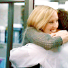 one classy broad: donna hugs