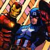 Joan: Iron Man and Cap (tmelange)