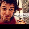 Kate: happy face Tumnus