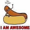 Awesome hot dog