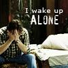 layne: sam wake up alone
