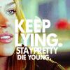 keep lying