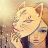 LadyPandora16: Girl with fox mask