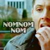 Lady Cyon: Supernatural - Dean NOM NOM NOM