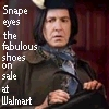 Snape loves his shoes