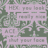 Doctor Who - Ace/Hex OTP