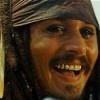 Capt. Jack Sparrow Laughs Amusedly