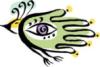 Птица с глазом