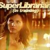 Super Librarian Cordy all tough