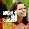 B.Joy ~ Brighter than sunshine.[L]