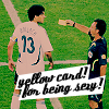 ballack sexy yellow card