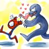 spidey - venom hearts