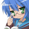 Konata - Megane is MOE.