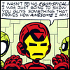 ironman is just that awesome