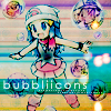bubblicous icons by riiiiiiiz