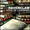 ravenclaw: love of learning