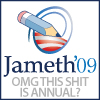i might like you better if we slept together.: jameth for lj queen!