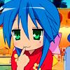 Konata Izumi: thinking