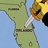Simpsons - Stab Orlando