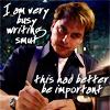 Verba volant, scripta manent: busy writing smut