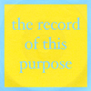 Robert Wells or Mr Waters: Record of This Purpose