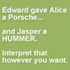 A place for Edward/Jasper shippers