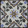 maureen: tiny blue tiles