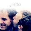 m: coldplay: chris jonny kiss
