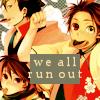 鉄とその三又槍: When in doubt--run!