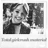 rachel - girlcrush material polaroid