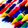 crayons, creative