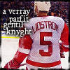 the cold genius: nick lidstrom gentle knyght