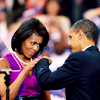 Becky: politics - fist bump of victory!