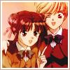 Miaka and Yui: Before the fall